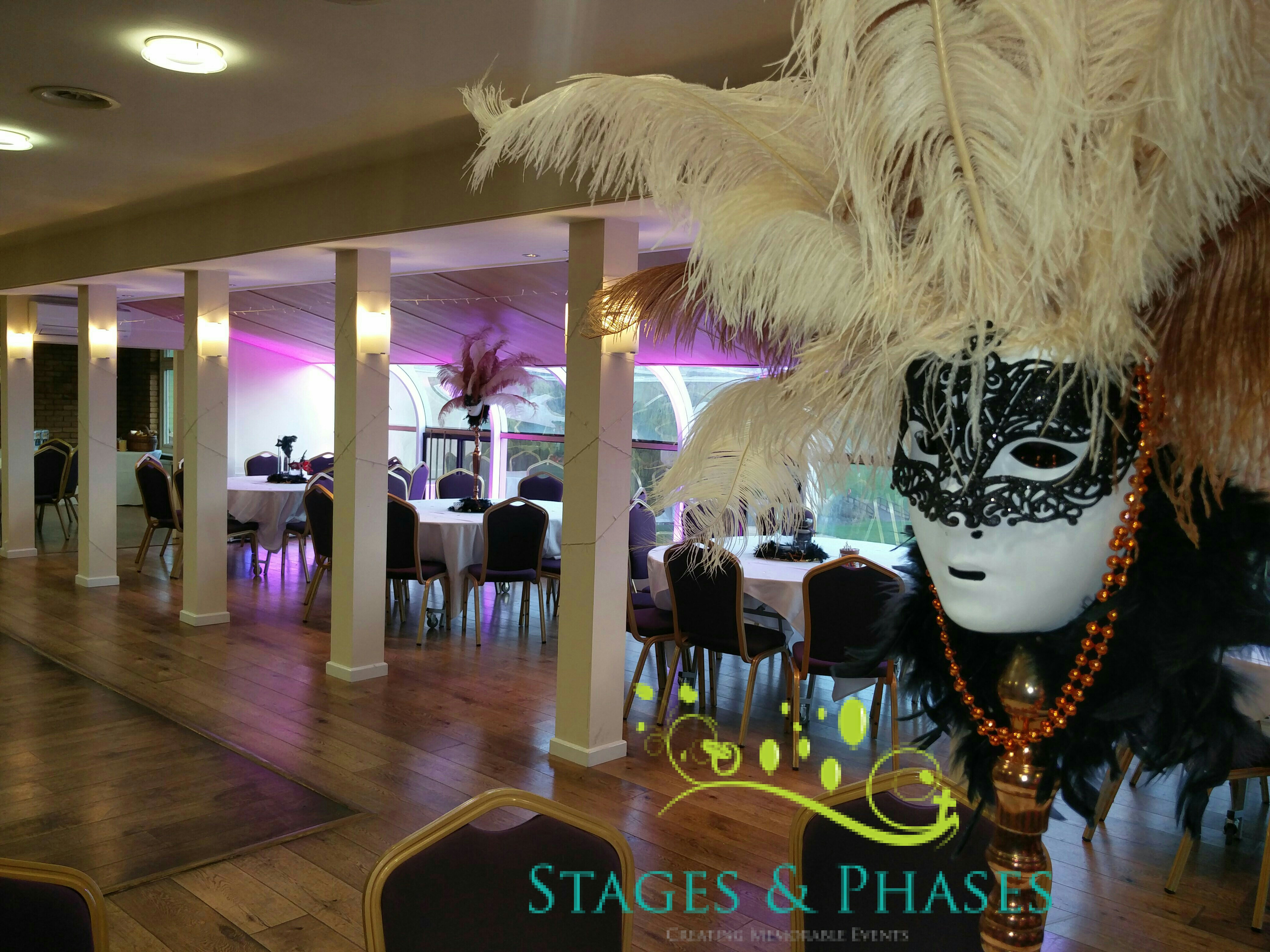 Masquerade Party At Warley Park Golf Club Essex