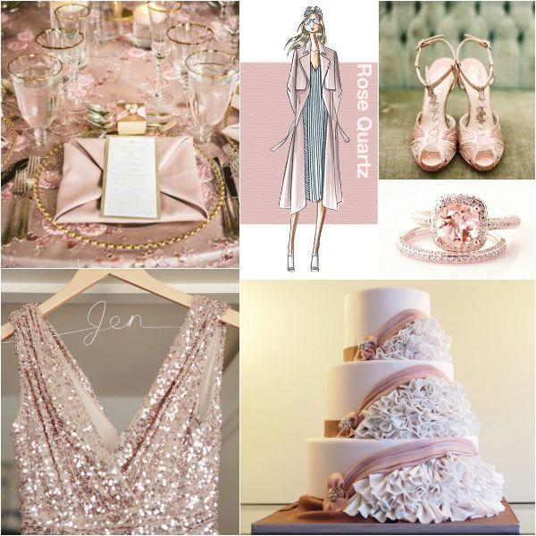 rose-quartz-pantone-color-theme-wedding-party